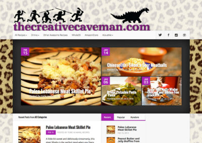 The Creative Caveman website