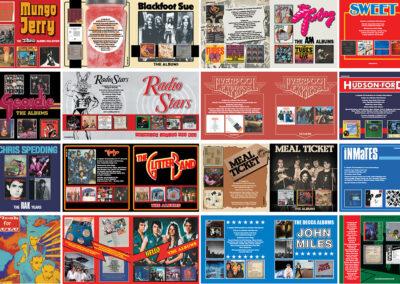 CD Box Set booklets