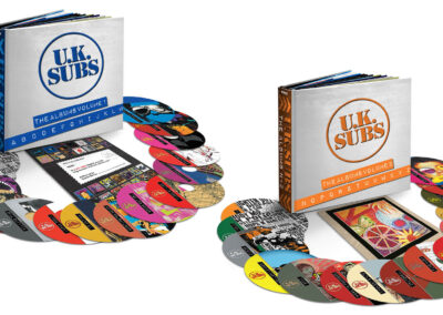 UK Subs CD Collection A-Z